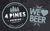 4 Pines Brewing Company - Brewery Tours